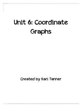 5th Grade Common Core Unit: Coordinate Graphing