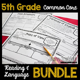 5th Grade Common Core Graphic Organizers for Reading and Language