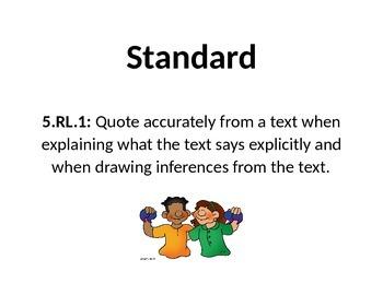5th Grade ELA Common Core Standards (CCSS)