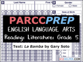 PARCC Practice Test: ELA: Reading: Literature: 5th Grade: