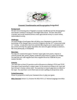 5th Grade Economic Transformation/Desegregation VS 9A, C C