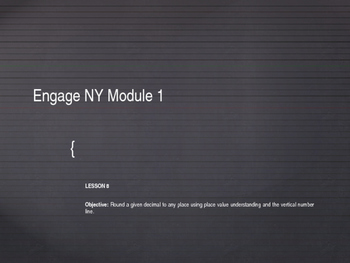 5th Grade Engage NY Math Module 1 Lesson 8