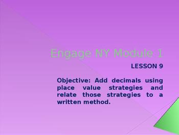5th Grade Engage NY Math Module 1 Lesson 9