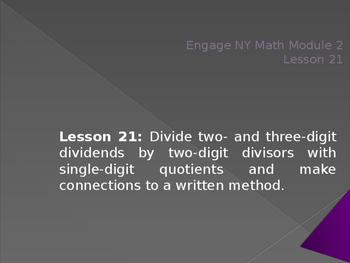 5th Grade Engage NY Math Module 2 Lesson 21