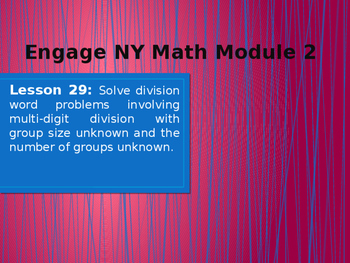 5th Grade Engage NY Math Module 2 Lesson 29