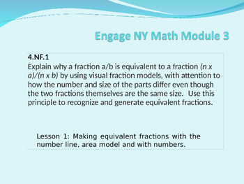5th Grade Engage NY Module 3 Lesson 1