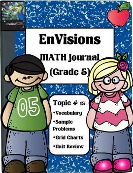 Envisions Math Topic 15 (5th Grade)