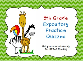 5th Grade Expository Practice