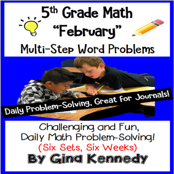 Daily Problem Solving for 5th Grade: February Word Problem