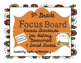 5th Grade Focus Wall for Kansas State Standards