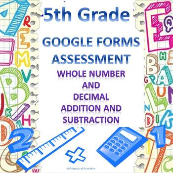 Whole Number and Decimal Addition and Subtraction Google F