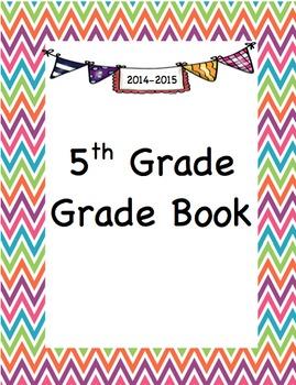 5th Grade - Grade Book (including standards checklists)