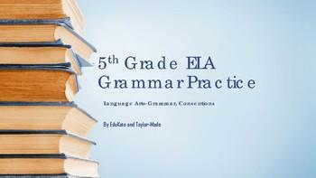5th Grade Grammar PowerPoint -TEST PREP