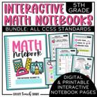 Interactive Notebook - 5th Grade Math {BUNDLE}