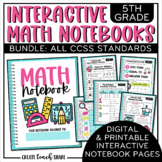 Interactive Notebook - 5th Grade Math {BUNDLE}