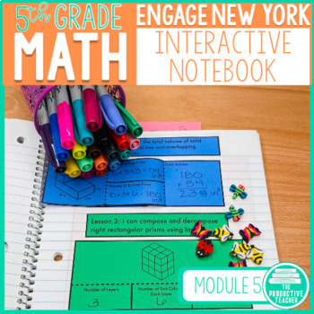 5th Grade Interactive Math Notebook: Engage NY Module 5