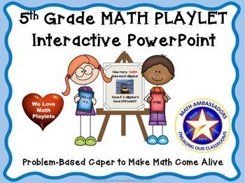 5th Grade Interactive Math Playlet: Alligators