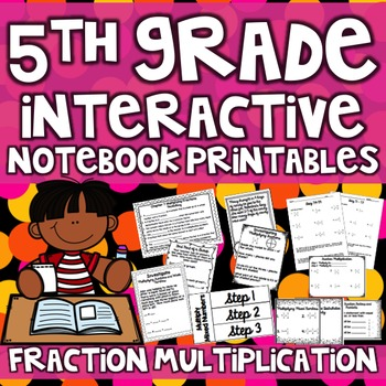 5th Grade Interactive Notebook - Multiplying Fractions