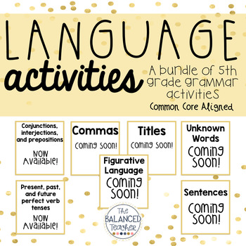 5th Grade Language Bundle