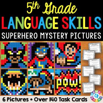 5th Grade Language Centers: 5th Grade Language Activities
