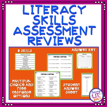 ELA Test Prep - Literacy Skills Reviews - TCAP Aligned