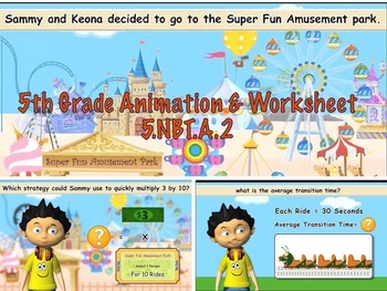 Common Core Math Video Activities (Multiplication and Divi