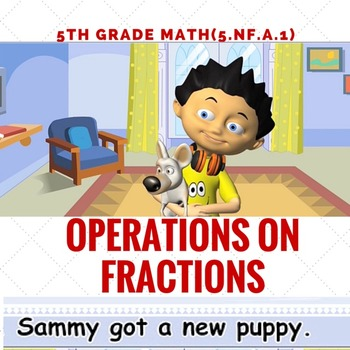 Operations with  Fractions for Math Center -Common Core Math