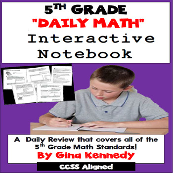 5th Grade Math Daily Test-Prep, Challenging, Easy-Prep Dai
