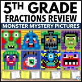 5th Grade Math Centers: 5th Grade Fraction Activities (Col