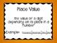 5th Grade Math Common Core Word Wall (Decimals)