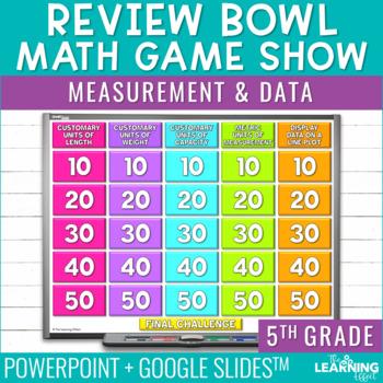 5th Grade Math Game - Measurement & Data