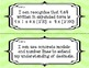 """5th Grade Math """"I Can"""" Statements for Common Core Standards"""