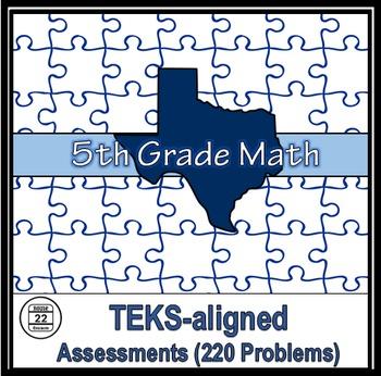 5th Grade Math TEKS Assessments