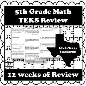 5th Grade Math TEKS Review