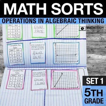 5th Grade Math Sorts - Set 1