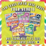5th Grade Math Task Cards: 5th Grade Task Cards Math MEGA Bundle