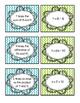 5th Grade Math Vocabulary: Mix-Freeze-Match Game