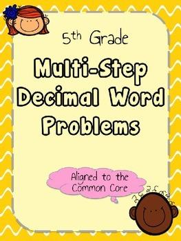 5th Grade Multi-Step Word Problems