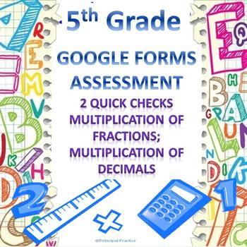 5th Grade Multiplication of Fractions and Decimals 2 Googl