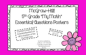 """5th Grade """"My Math"""" Essential Questions (McGraw-Hill)"""