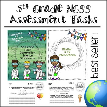 5th Grade NGSS Assessment Tasks