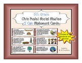 5th Grade I Can statement cards for Ohio Model Social Stud
