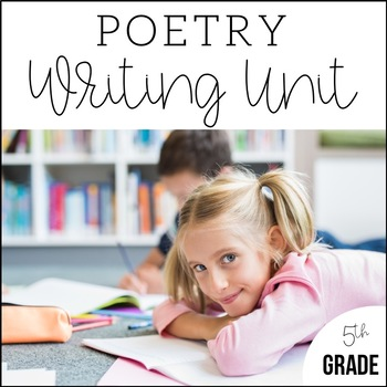5th Grade Poetry Unit - Unit 6 {CCSS Aligned!}
