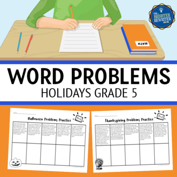 5th Grade Holiday Word Problems