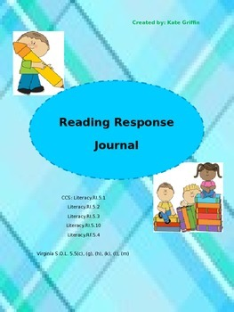 5th Grade Reading Reponse Journal