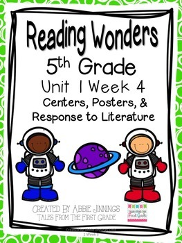 5th Grade Reading Wonders-  Unit 1 - Bundle