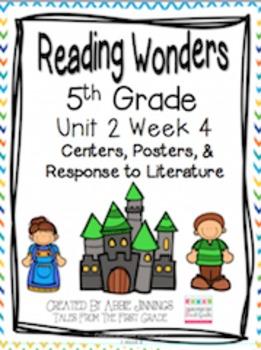 5th Grade Reading Wonders-  Unit 2 Week 4