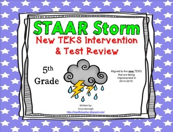 5th Grade STAAR Storm Intervention & Test Review