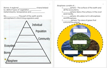 5th Grade Science Curriculum Notes for NGSS