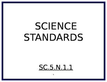 5th Grade Science Florida Standards